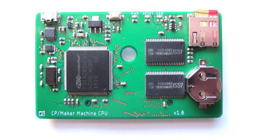MakerLisp Machine – An expandable eZ80 CPU card running bare-metal Lisp