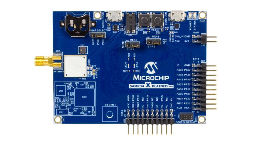 Microchip New Ultra-Low  Power LoRa SiP
