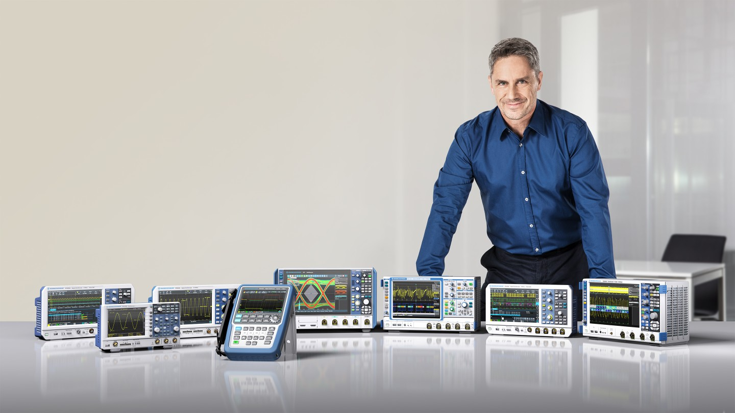 Rohde & Schwarz is expanding its portfolio with the RTC1000, RTM3000 and RTA4000 series oscilloscopes