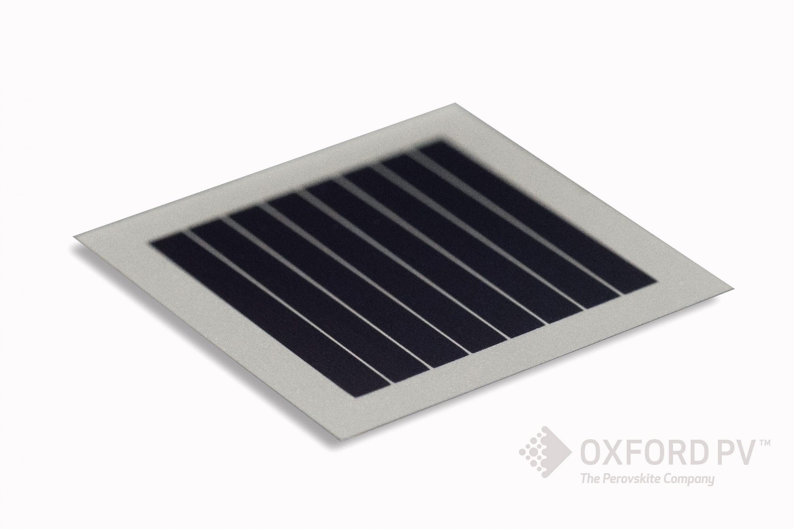 Oxford PV perovskite solar cell achieves 28% efficiency
