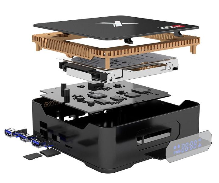 Amlogic A95X Max TV Box Provides HDR & SATA