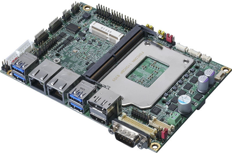 Commell LS-37L – 3.5-inch Intel Coffee Lake SBC