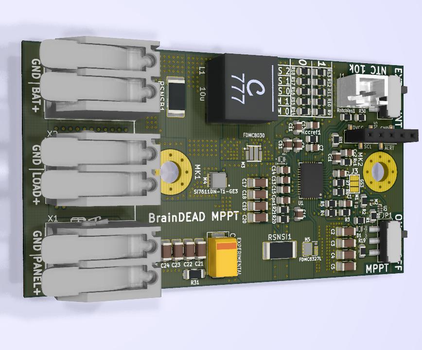BrainDead MPPT Solar charger 35V/8A