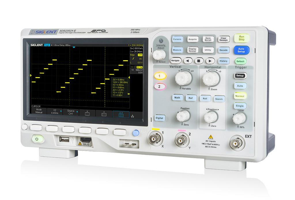 NEW Siglent SDS2000X-E series oscilloscopes