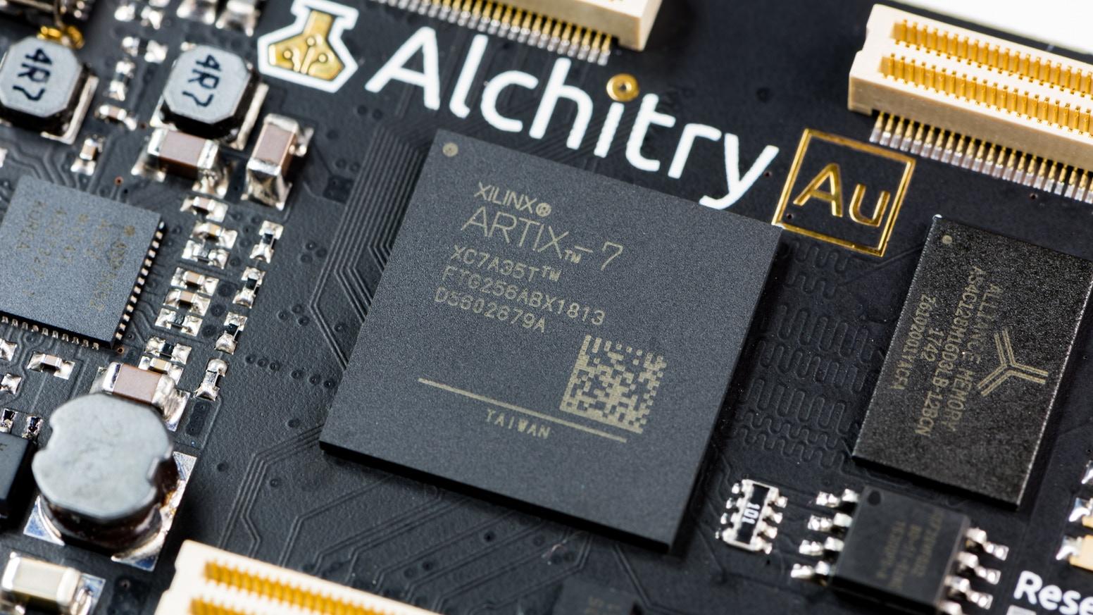 Alchitry – FPGA development boards for hobbyists