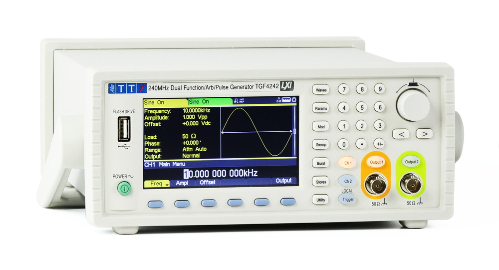 Dual Channel Arbitrary Function Generator With 40 To 240mhz Models