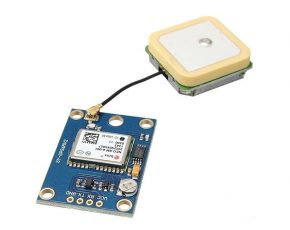 DIY Altimeter using a NEO UBLOX GPS module, a Color OLED and Arduino