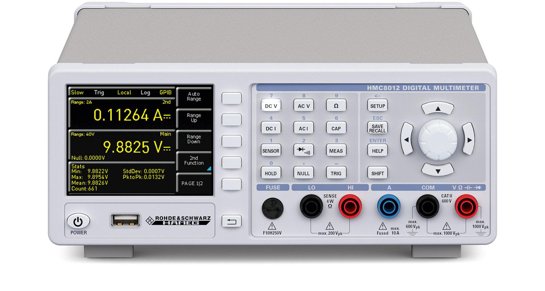 Rohde & Schwarz HMC8012 Digital Multimeter with 5-3/4 Digit Display (480,000 Counts)