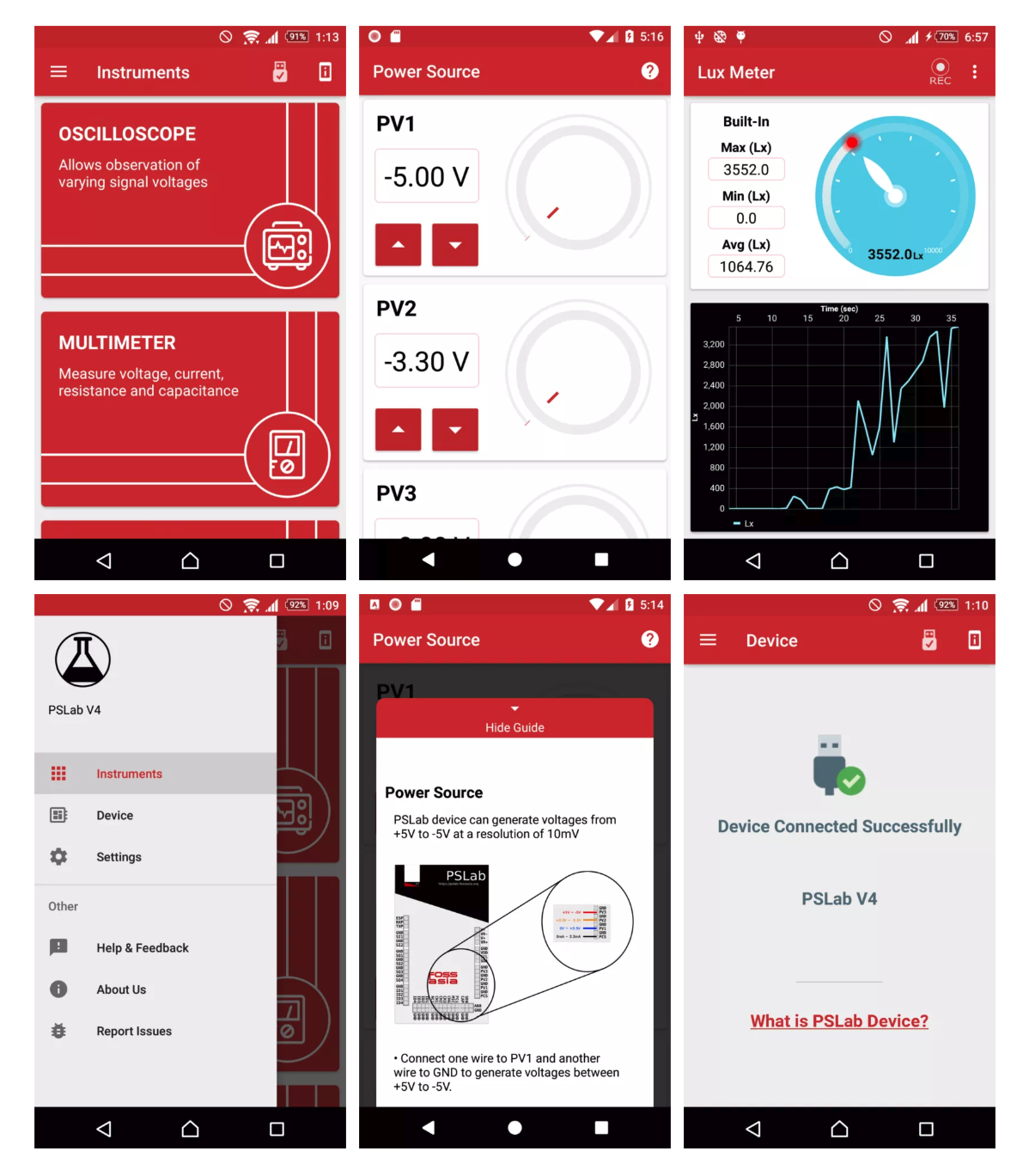 PSLan android app