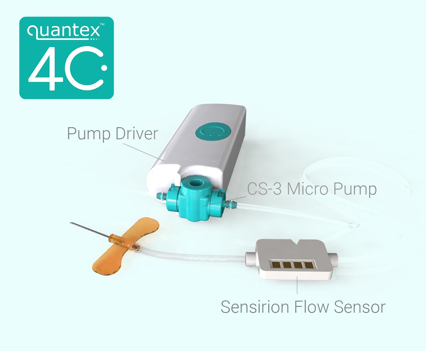 LD20 Liquid Flow Sensor Is Part of Wearable Drug Delivery IoT Platform