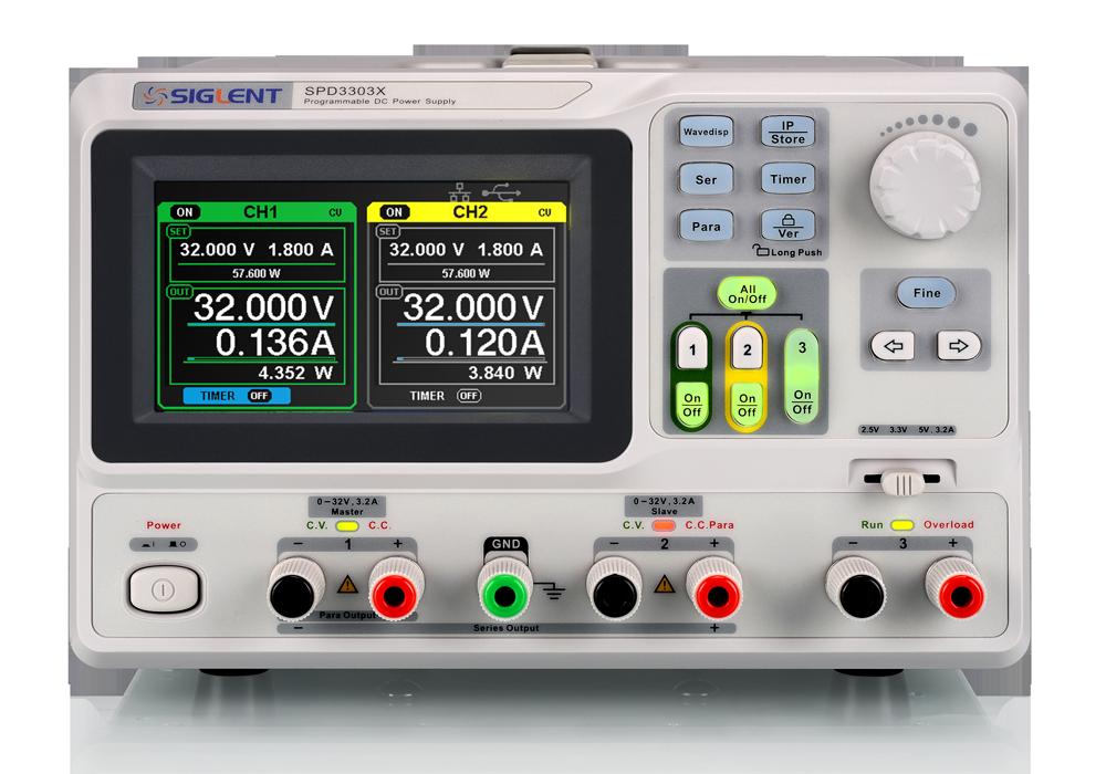 SPD3303X / SPD3303X-E Series Programmable DC Power Supply