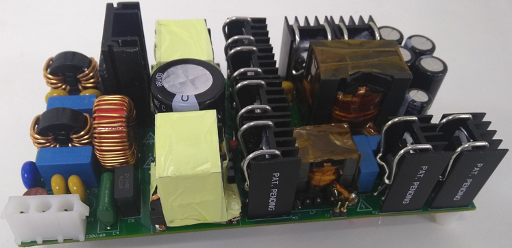 94.5% Efficiency, 24V @ 21A – 500W industrial AC-DC reference design