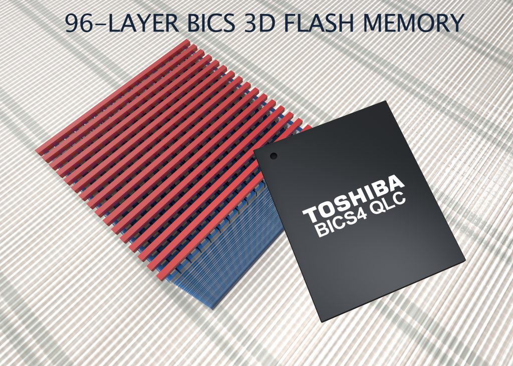 Toshiba Memory Europe Unveils 1TB Single Package PCIe Gen3 x4L SSDs