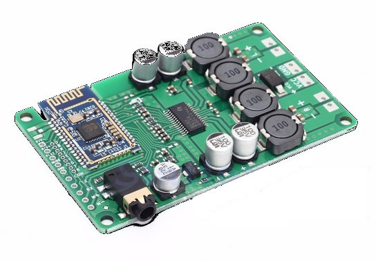 Audio amplifier board supports Beken BK3266 Bluetooth 5.0 chip