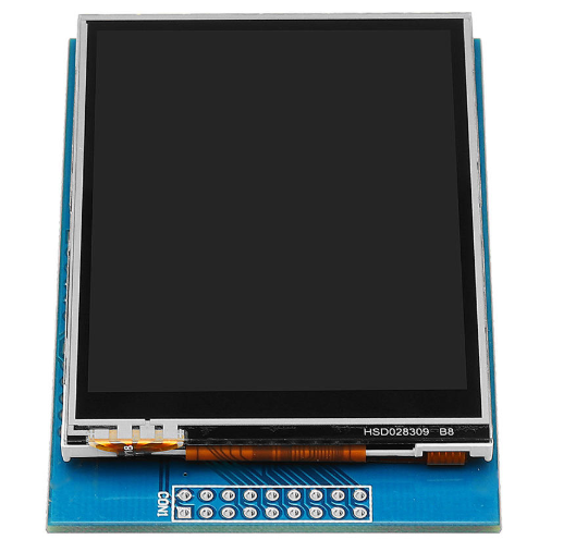 Using the Geekcreit ILI9325 2.8″ Touchscreen display with Arduino
