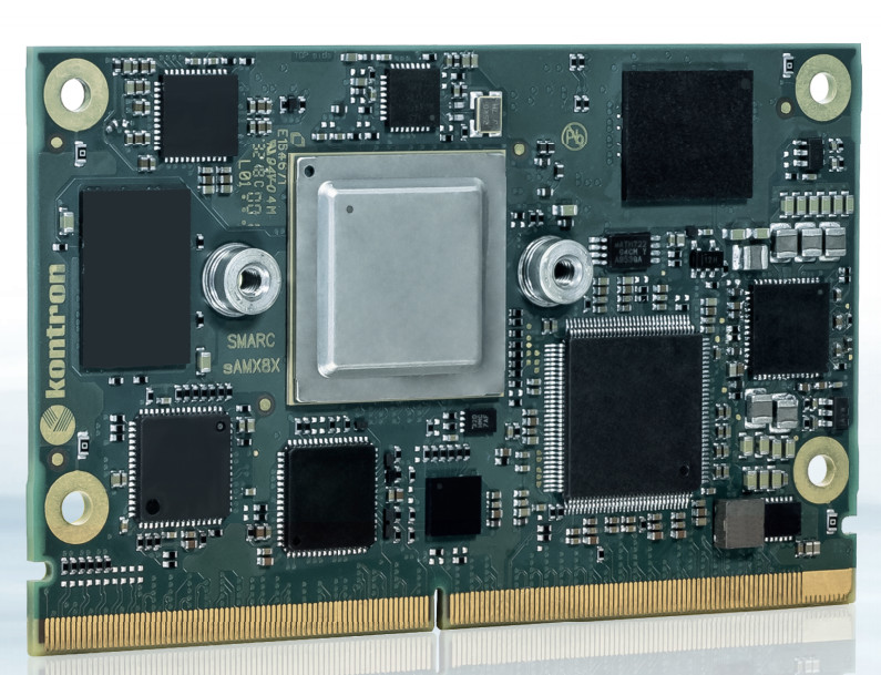 Kontron's SMARC-sAMX8X Features NXP i.MX8X Low Power SoC