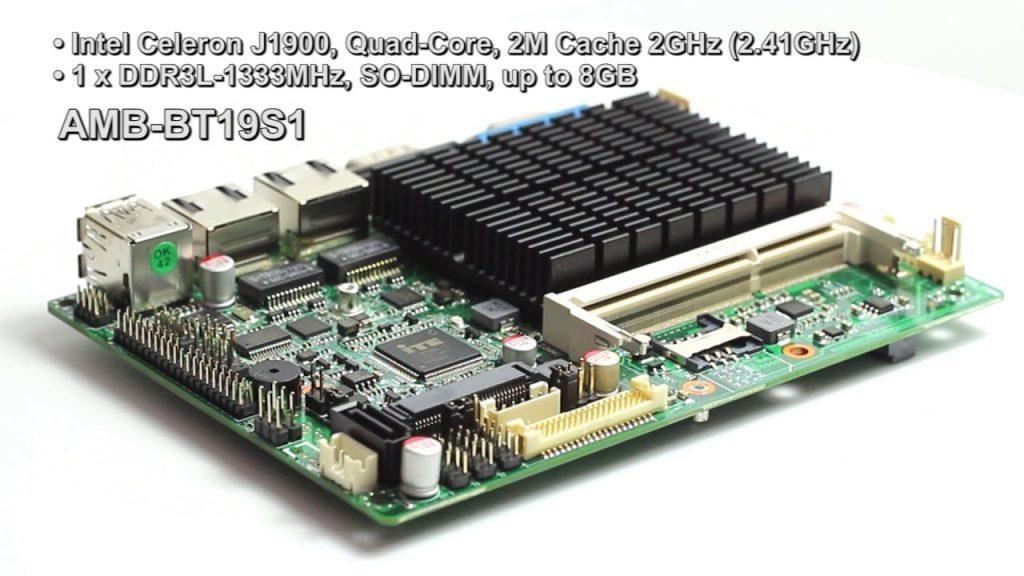 Acrosser's Entry-Level AMB-BT19S1 SBC Has Intel Bay Trail SoC