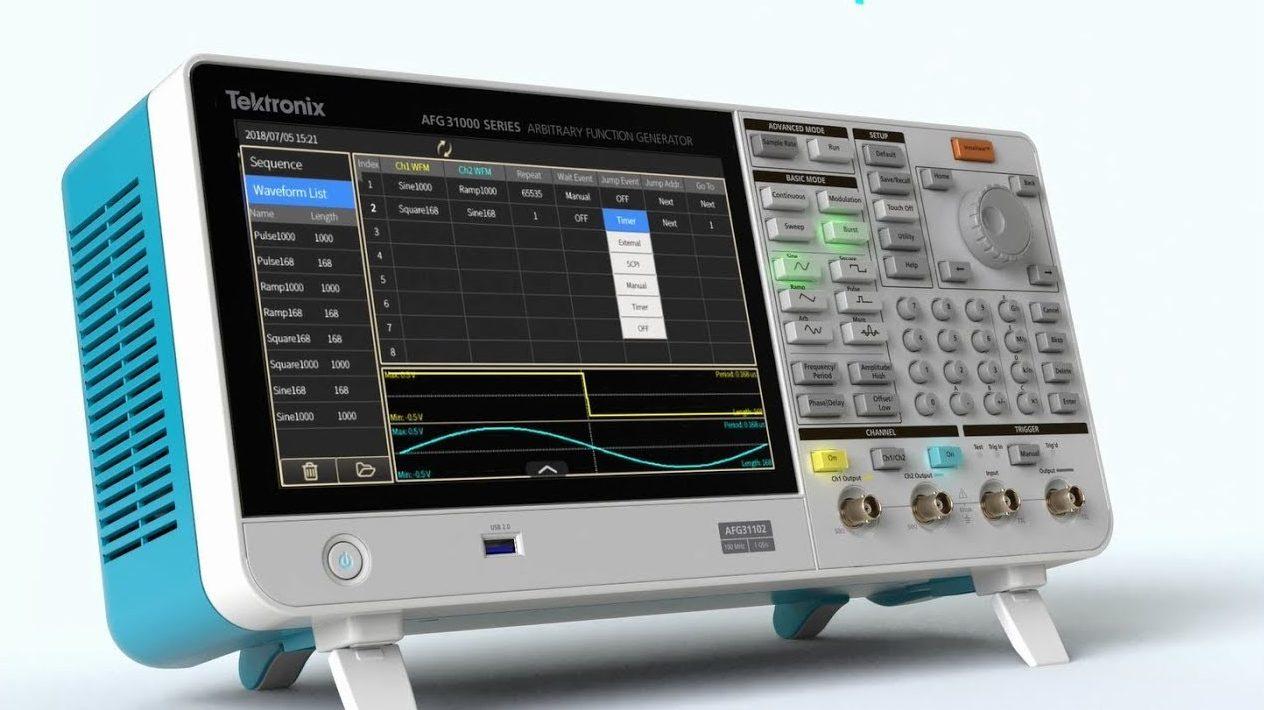 Tektronix AFG31000 – Arbitrary Function Generators