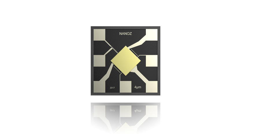 Nanoz – The smallest Selective Gas Sensor