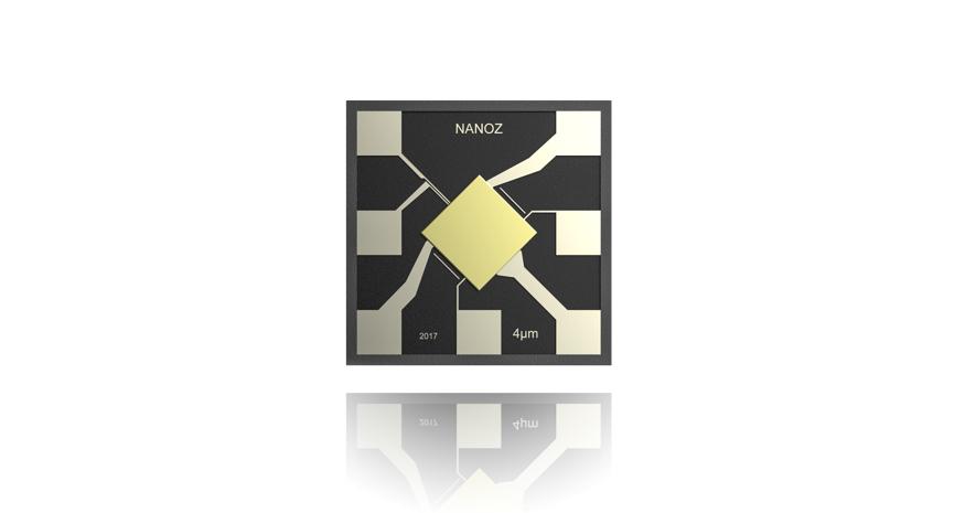 Nanoz – The smallest Selective Gas Sensor