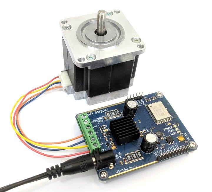 Wi-Fi Stepper motor Controller
