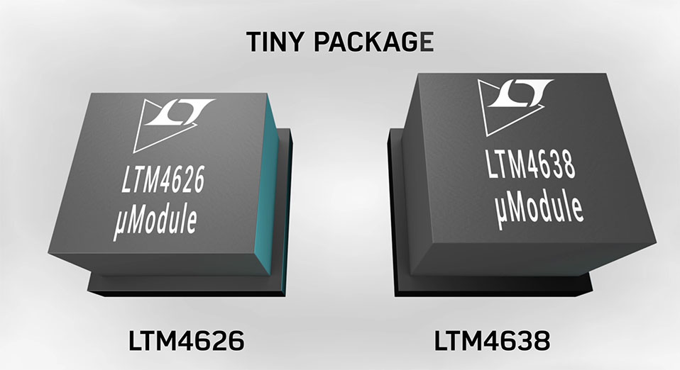 LTM4638 – 20 VIN, 15 A and 12 A Step-Down DC-to-DC μModule® Regulators