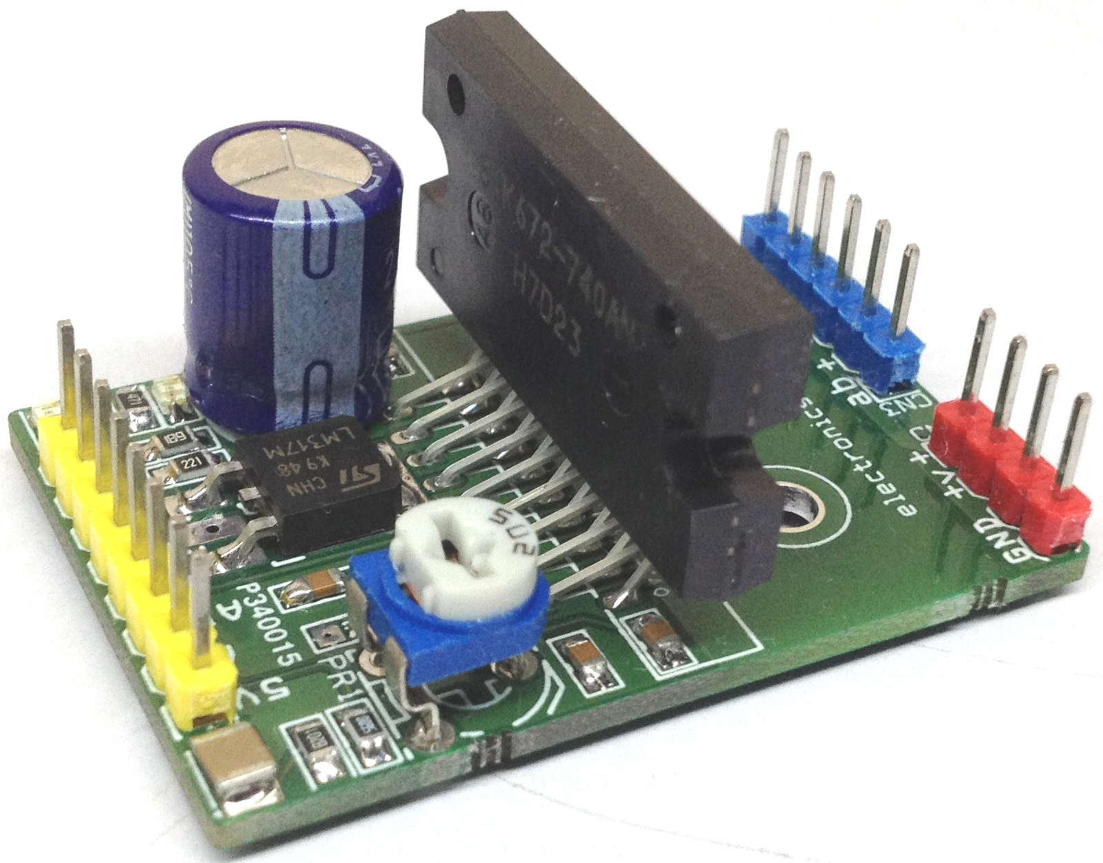 4A PWM Controlled Unipolar Stepper Motor Driver using STK672-740