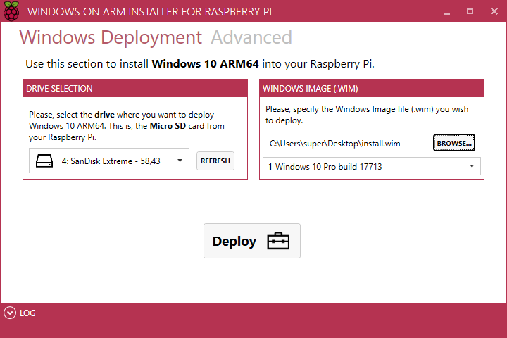 Run Windows 10 on Raspberry Pi 3