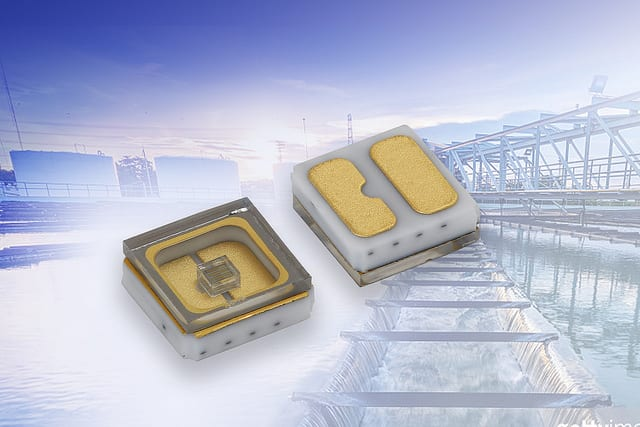 New Vishay Intertechnology Mid-Power Ultraviolet Emitting Diode With Quartz Window