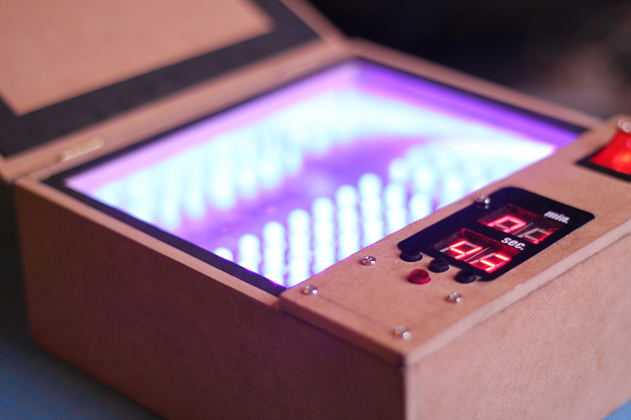 UV Exposure Box Project with timer