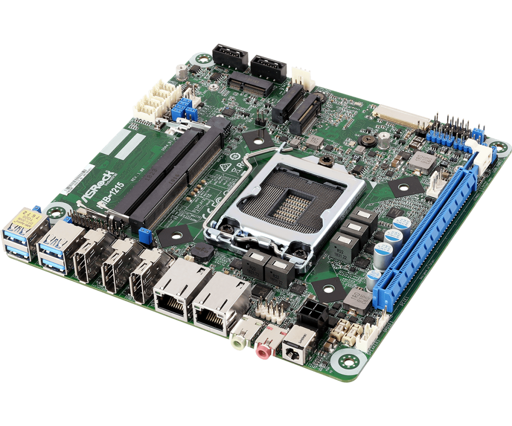 IMB-1215 Coffee Lake – Mini-ITX Intel® Core™ 8th Gen Q370 SBC