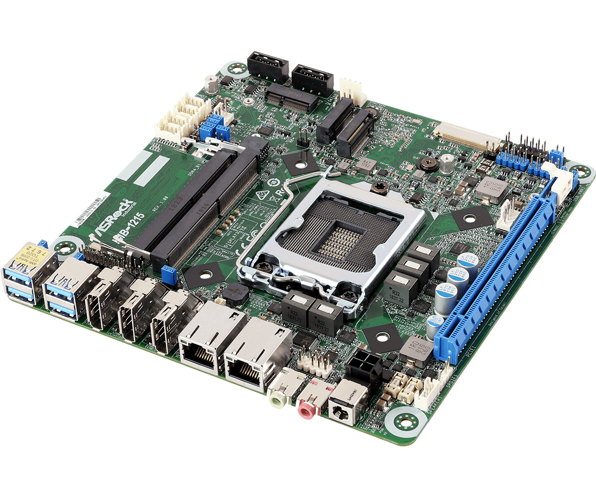 IMB-1215 Coffee Lake – Mini-ITX Intel® Core™ 8th Gen Q370 SBC