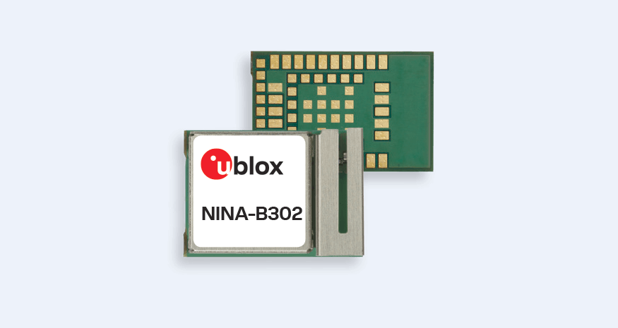 NINA-B3 series – Stand-alone Bluetooth 5 low energy modules
