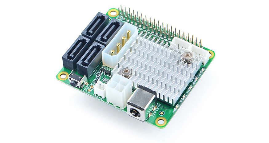 DIY NAS System with newly launched Nano Pi SATA HAT