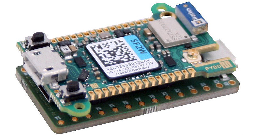 Pyboard D Series MicroPython Board Features STM32F7 MCU, WiFi and Bluetooth
