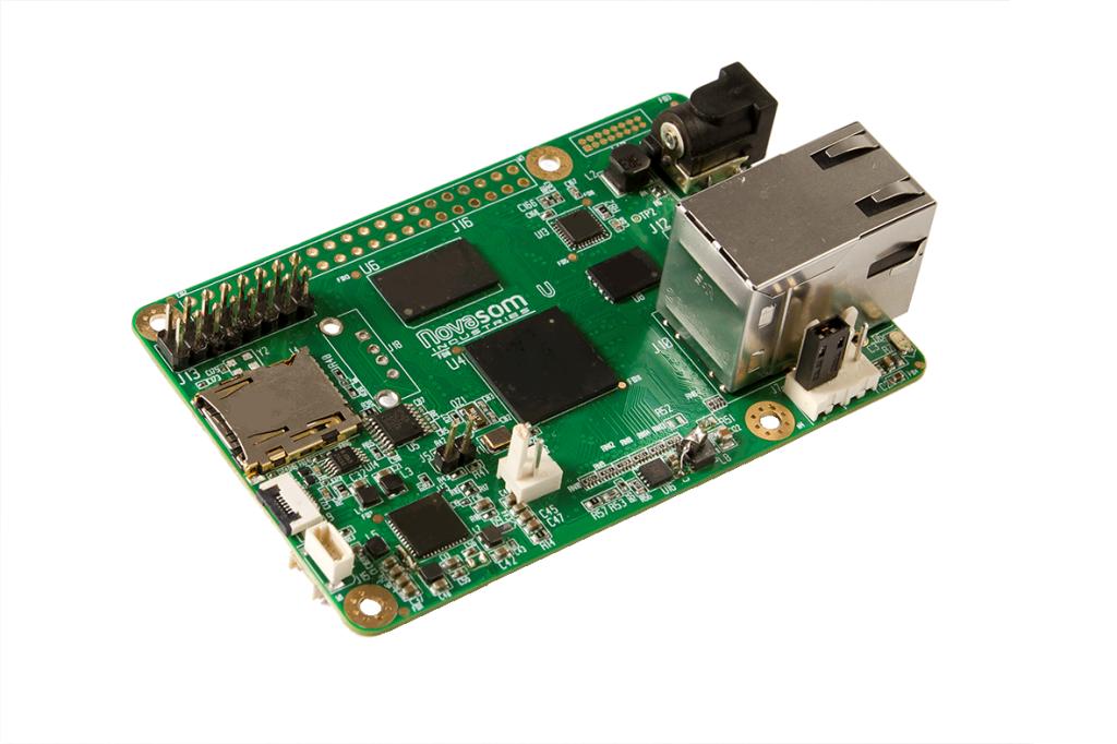 NOVASOM's U5 SBC features NXP iMX6 ULL CPU