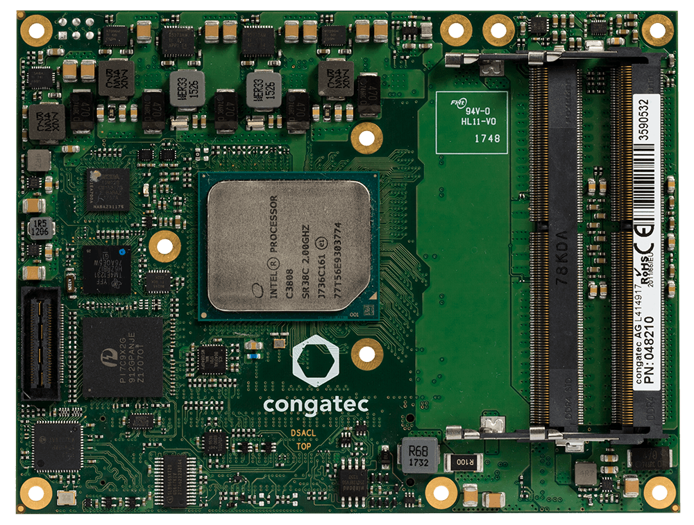 Congatec Announces a COM Express Type 7 Modules For The Aircraft Industry