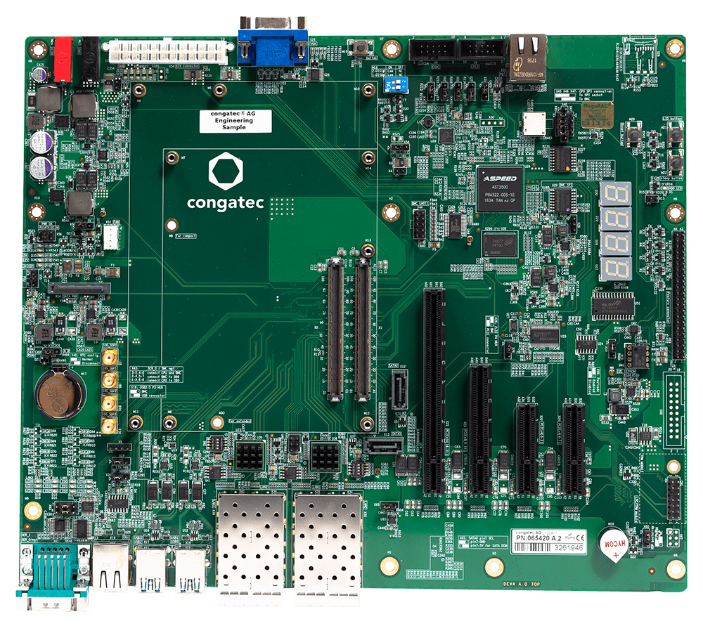 Conga-X7EVAL carrier board