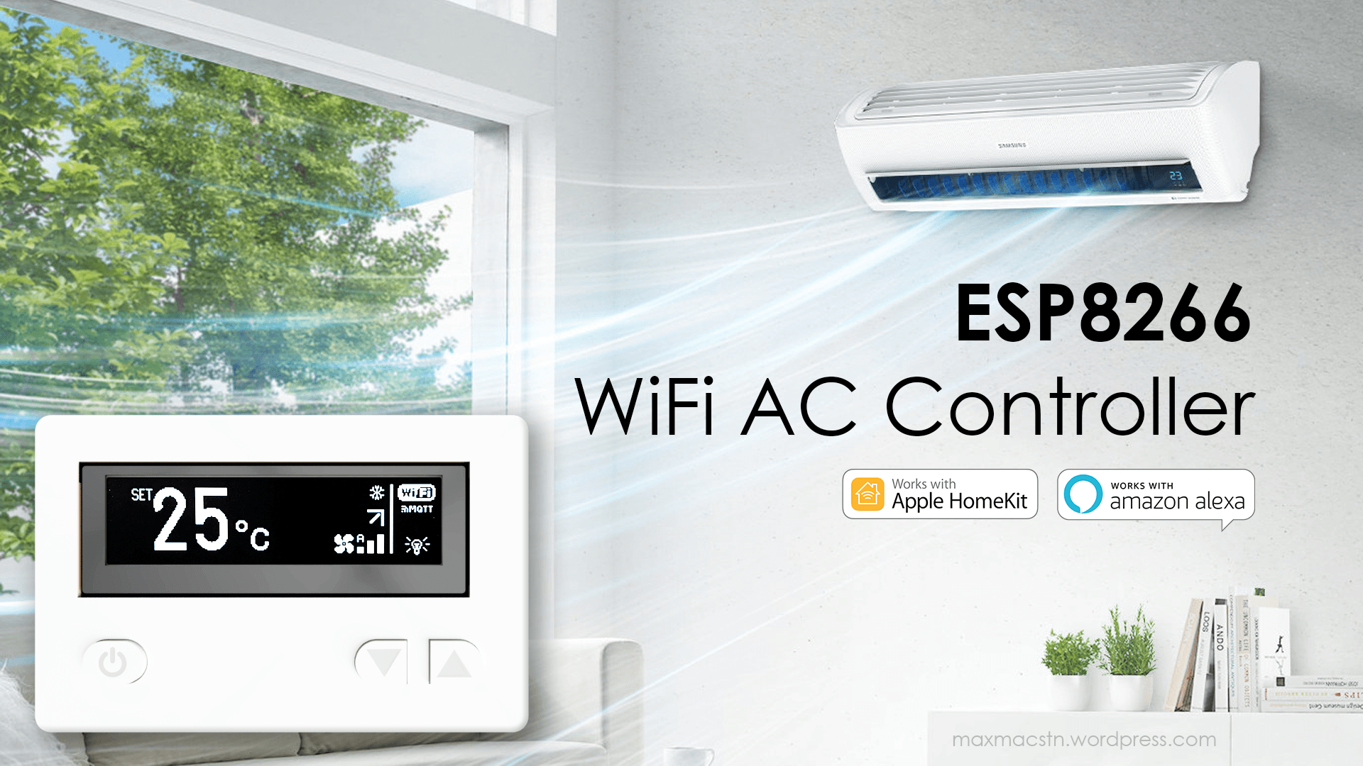 ESP8266 WiFi Air Conditioner Remote Control