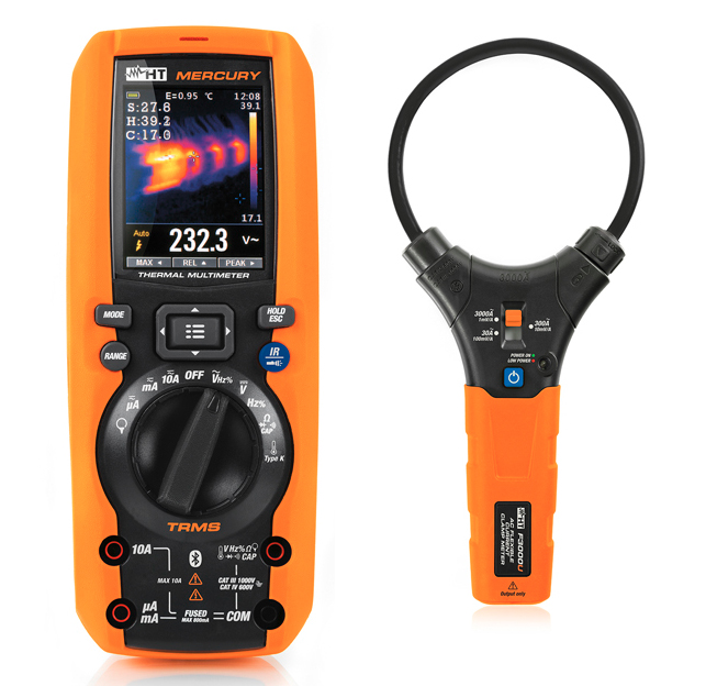 Digital Multimeter has built-in IR camera
