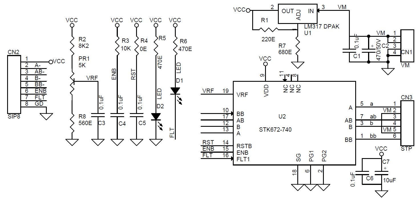 5w high power led driver with pic12f683