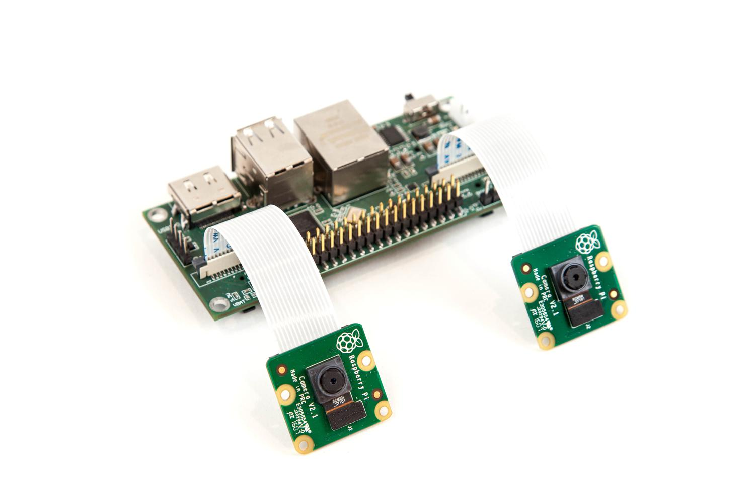 Virt2real Stereoscopic Camera kit with Raspberry Pi CM3+