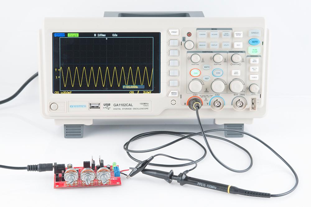 HS101: A high quality, and Cheap DIY Oscilloscope
