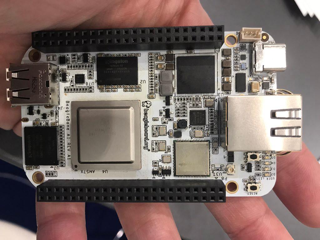 BeagleBone SBC features dual Cortex-A15 Soc and AI support