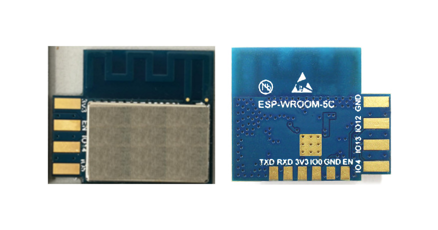 ESP-WROOM-5C is a Side-Mounted ESP8285 WiFi Module