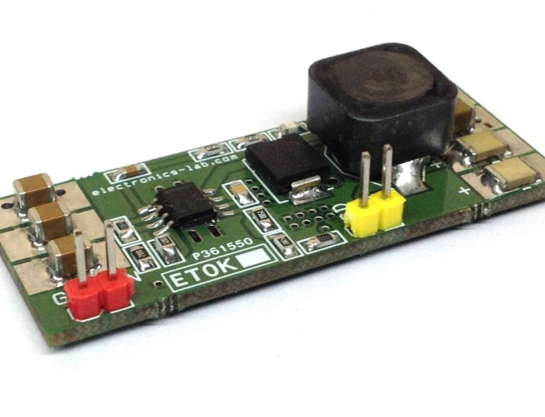 60V to 5V DC-DC Step-Down Converter using LMR16030