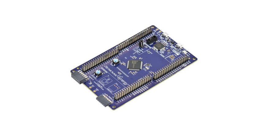 RS adds Renesas Synergy S5D3 MCU and development board