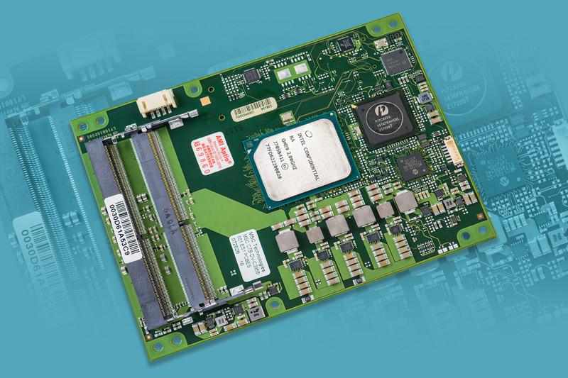 First COM Express Type 7 Module with Intel Atom C3000 Processor