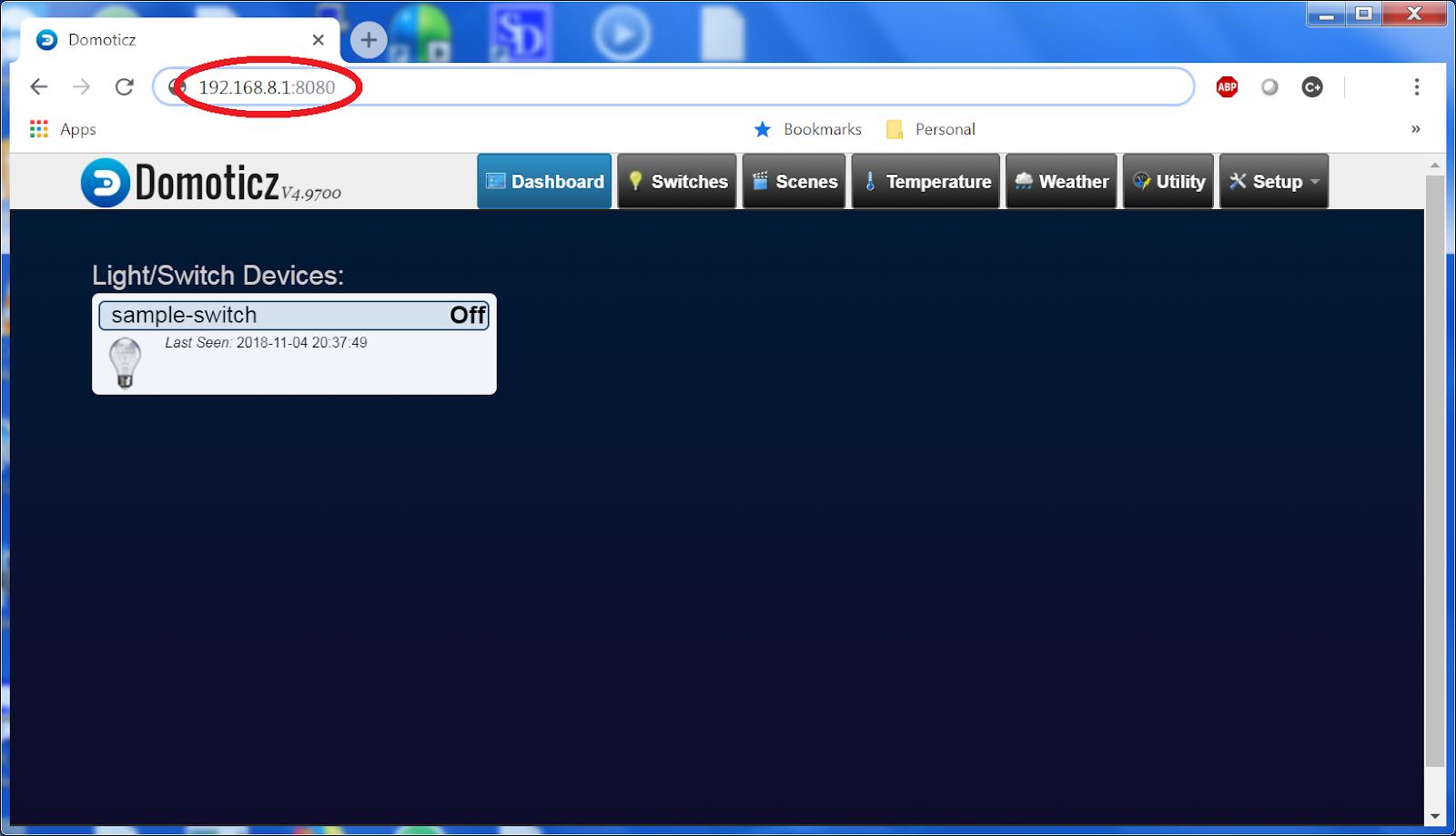 Custom firmware UI