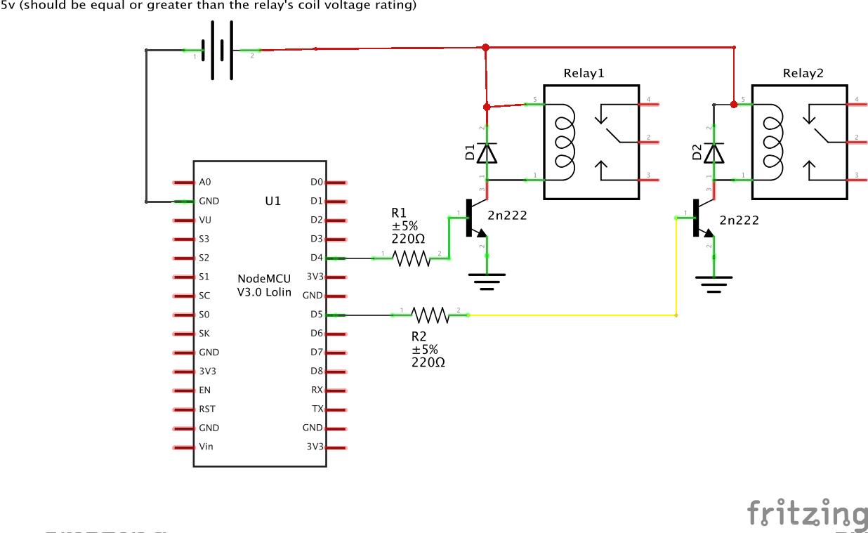 Home Automation using NodeMCU (ESP8266) board - Electronics-Lab
